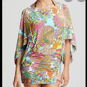 Trina Turk 'Coral Reef' Swim Cover Up Tunic Dress